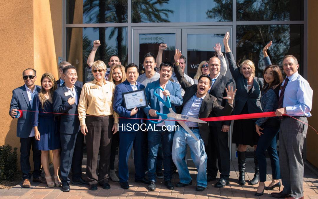 Wokcano Tustin CA Grand Opening & Ribbon Cutting Irvine Chamber