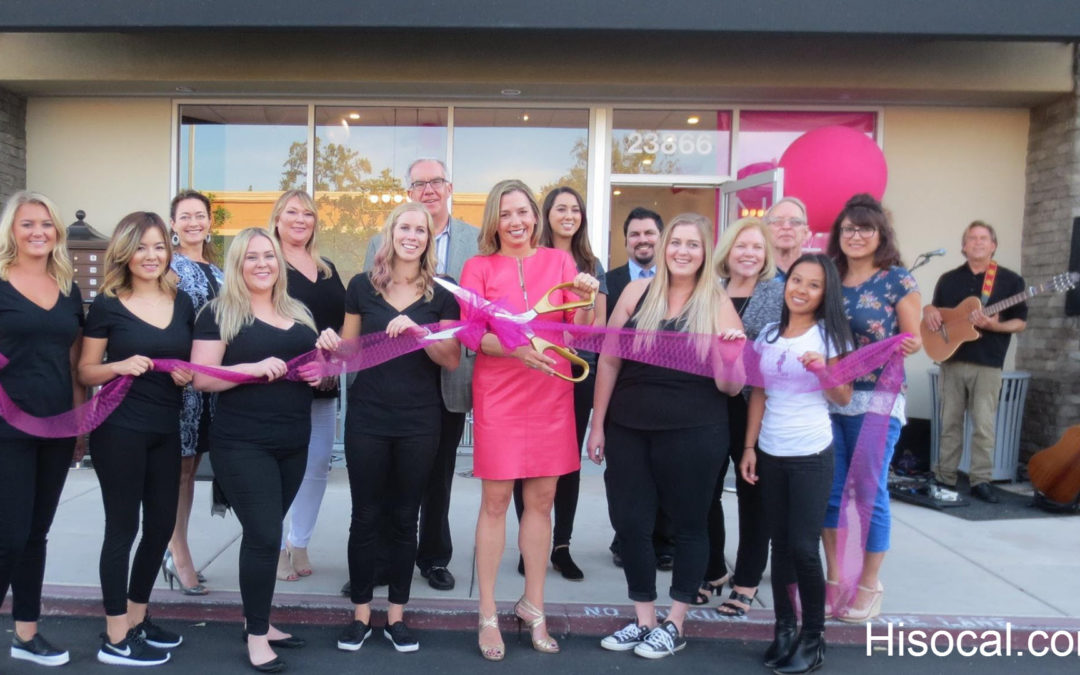 LunchBOX Waxing Ribbon Cutting Laguna Niguel Chamber