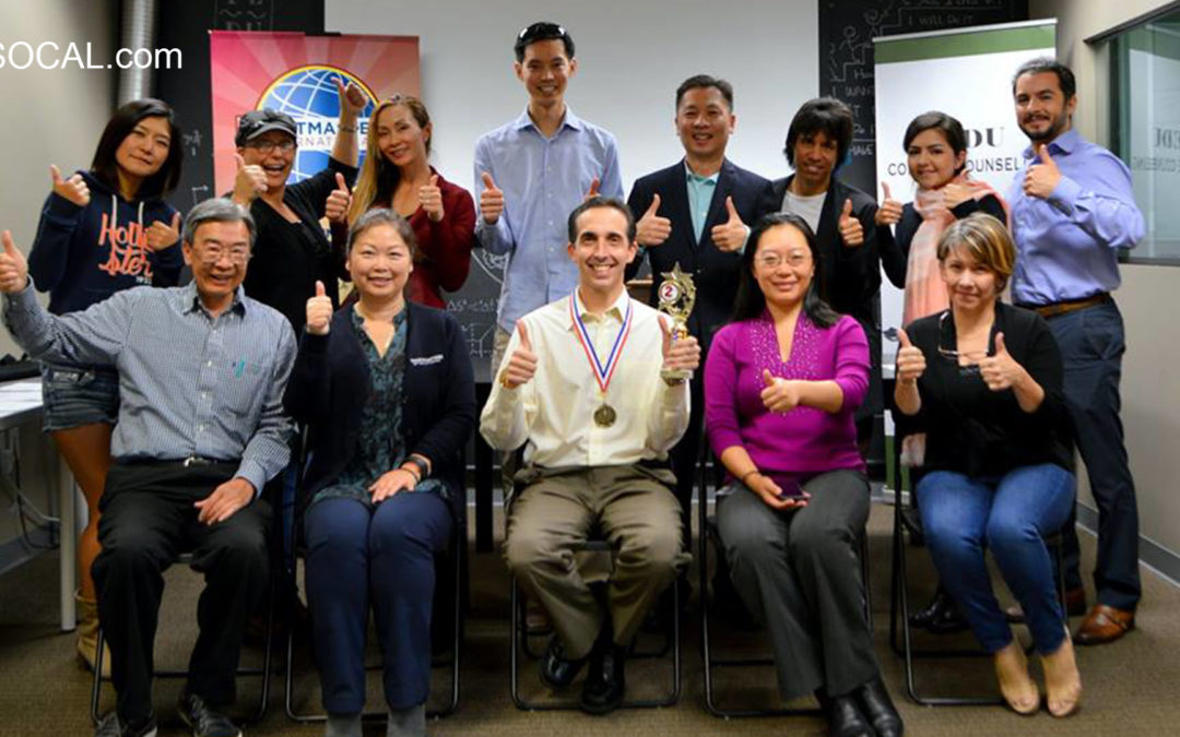 Irvine Lunchtime Toastmasters 2016-10-17