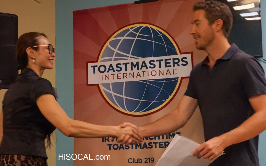Irvine Lunchtime Toastmasters 2016-10-10