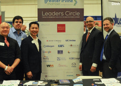Greater Irvine Chamber at OC Largest Mixer 3