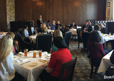 Networkers Luncheon at TAPS Fish House & Brewery 3