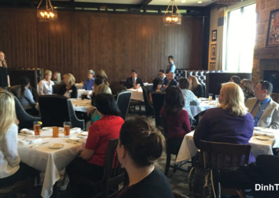 Networkers Luncheon at TAPS Fish House & Brewery 4