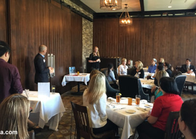 Networkers Luncheon at TAPS Fish House & Brewery 8
